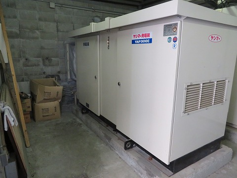 自家発電設備整備